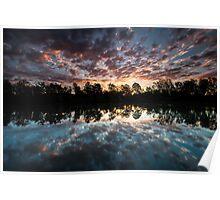 """""""Riverdusk"""" ∞ Brisbane River, QLD - Australia Poster"""