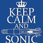 Keep Calm and Sonic by Amiteestoo