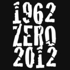 Celebrating New Zealands Victories in 1962 & 2012 - White Print by SpottiClogg