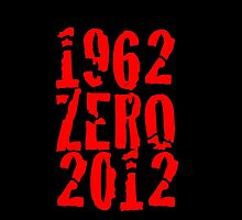 Celebrating New Zealands Victories in 1962 & 2012 - Red Print by SpottiClogg