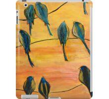 Birds On Wires iPad Case/Skin