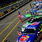 Garage Line Up | V8 Supercars | Sydney Motorsports Park | 2012 by Bill Fonseca
