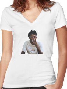 Playboi Carti  Women's Fitted V-Neck T-Shirt