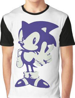 Minimalist Sonic Graphic T-Shirt