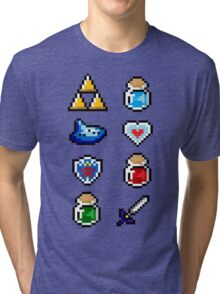 Zelda Items V.2 Tri-blend T-Shirt