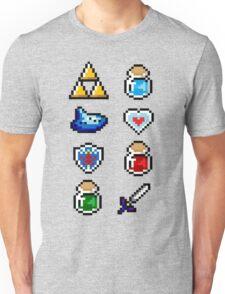 Zelda Items V.2 Unisex T-Shirt