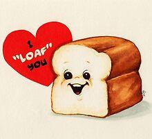 Bread Valentine by Kelly  Gilleran