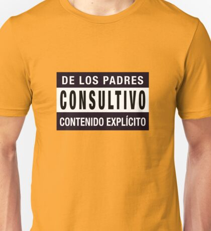 Mind your language - Spanish Unisex T-Shirt
