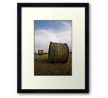 Hay ball Framed Print