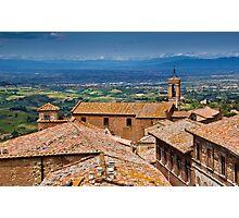 Montepulciano, Tuscany Photographic Print