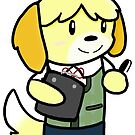Isabelle - Animal Crossing  by CharlieeJ