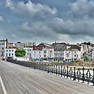 Ryde Pier. Isle of Wight. by Lilian Marshall