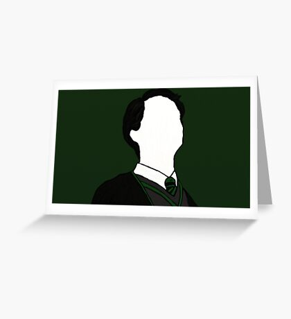 Tom Riddle in Chamber of Secrets Greeting Card