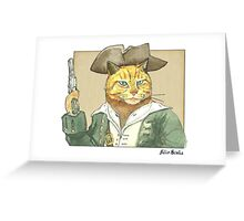 Pirate Orange Greeting Card