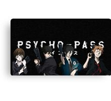 Psycho-Pass Canvas Print