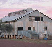 Shearing Shed Sun Setting 2 by Belac00