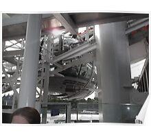 London Eye/Capsule/Machinery -(260812)- Digital photo Poster