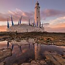 St Mary's Lighthouse by Brian Kerr