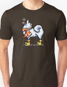 Samoyed / American Eskimo Dog Celebrate Winter T-Shirt