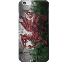 Welsh Flag iPhone Case/Skin