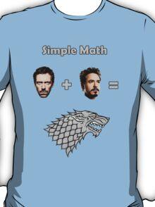 House Stark Equation T-Shirt