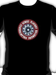 Tony Stark - stickers-friendly T-Shirt