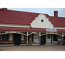 Quorn Railway Station Photographic Print
