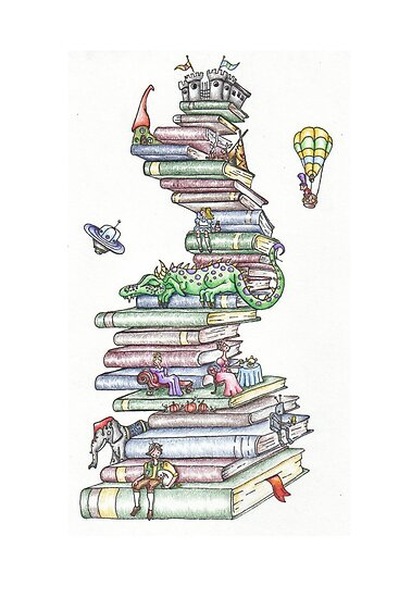 Book Tower by Heather Munro