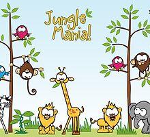 Jungle Mania by leannesore