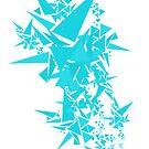 Blue Boom! by Paper Plane Design