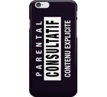 Mind your language - French iPhone Case/Skin