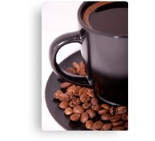 Morning coffe Canvas Print