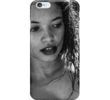 Márcia (BW) iPhone Case/Skin