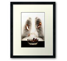 Smoking WILL kill you Framed Print