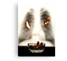 Smoking WILL kill you Canvas Print