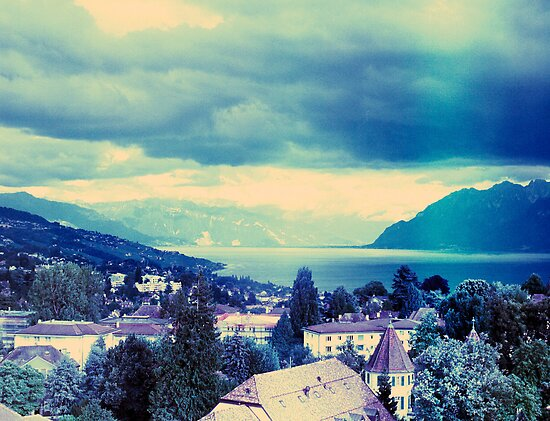 view of Lausanne - Switzerland by busteradams