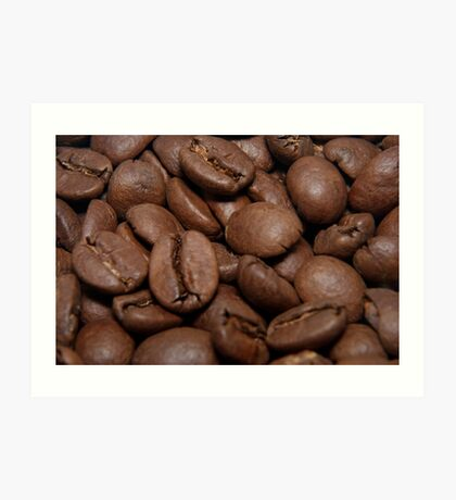 Coffe beans Art Print