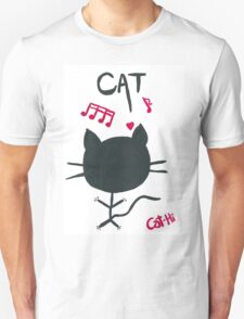 Music Cat Unisex T-Shirt
