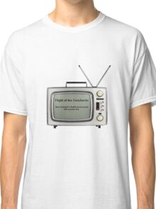 Flight of the Conchords - Television design Classic T-Shirt