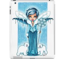 The Snow Fairy & Her Polar Bear Friends iPad Case/Skin