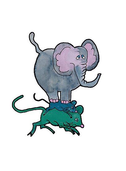 Ganesha's Double Ride by nancykells
