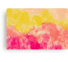 Swimming In Flowers Canvas Print