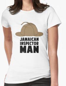 Jamaican Inspector Man Womens Fitted T-Shirt