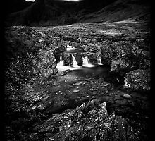 Glenbrittle Pools by Rory Garforth