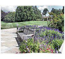 Summer at Fellows Riverside Gardens Poster