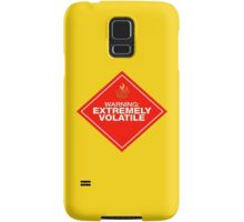 Warning: Extremely Volatile Samsung Galaxy Case/Skin