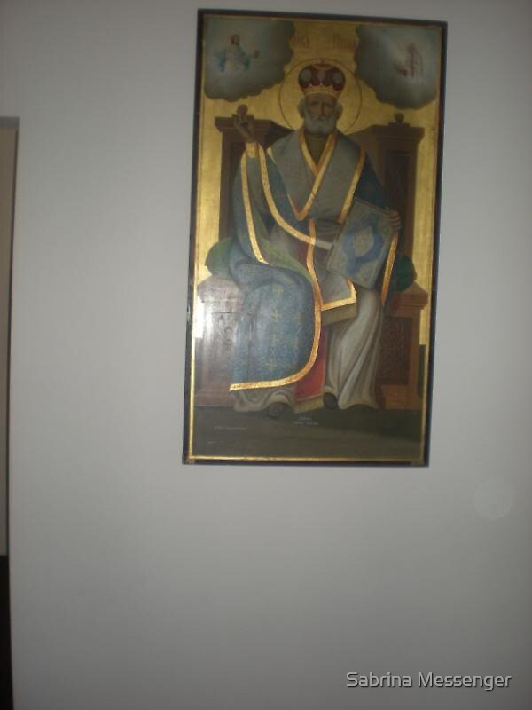 Icon of St. Nicholas of Myra by Sabrina Messenger