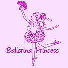Ballerina Princess ballet dancer by Sarah Trett