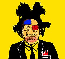 Jean Michel Basquiat Culture Cloth Zinc Collection iPhone Case by CultureCloth