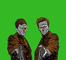 Boondock Saints Culture Cloth Zinc Collection iPhone Case by CultureCloth